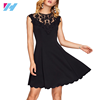 Yihao 2017 latest fashion wholesale high quality sexy lace women casual dress