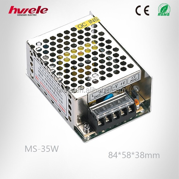 MS-35W MINI indoor LED driver with SGS,CE,ROHS,TUV,KC,CCC certification