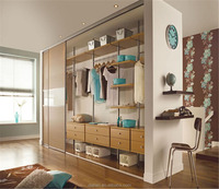 plywood elegant modular wardrobe design
