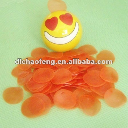 RED COLORED PRAWN CRACKERS