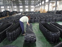 high quality agricultural rubber track all agricultural track size