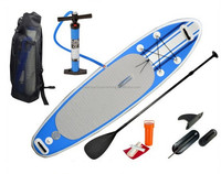 Non-slip soft foam inflatable stand up paddle sup boards with patent no