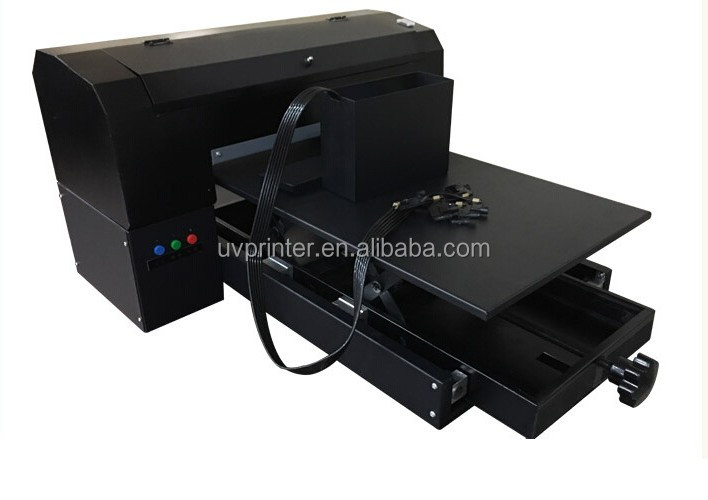 Factory, A3/A4 glass printer, UV Flatbed Printer for any flat material