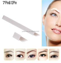 High Quality Eyebrow Permanent Makeup Needle Blade 7F Needles For Permanent Makeup Manual Pen