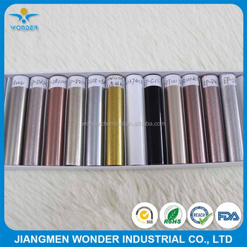 Various Metallic Silver/Gold/Rose Gold Powder Coating For Metal Products