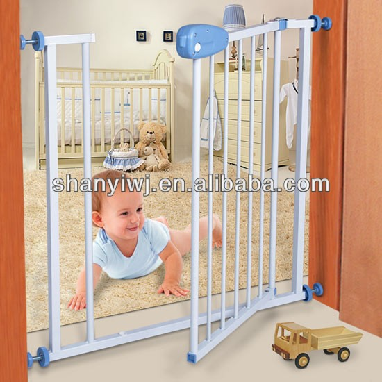 Baby Pressure Fix Safety Gate in Door Stair Gate with 15cm Extentions