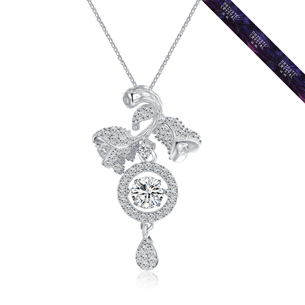 New arrival sterling silver necklace pendant for ICU&CCU use