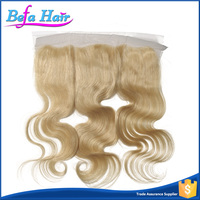 2016 Wholesale Good Quality 13x4 Free Style Blonde Lace Frontal