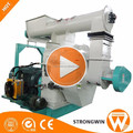 Hot Selling Strongwin ring die industrial biomass wood pellet machine for sale