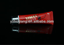 50ml Vimax Power Man Cosmetic Plastic Red Tube With Two Layers Cap