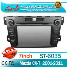 China factory special car radio audio car dvd gps player for MAZDA CX-7 2001-2011 with radio gps navigation