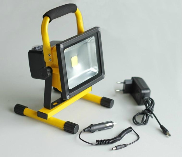 Multifunctional super bright led <strong>flood</strong> ce rohs 20w rechargeable floodlight outdoor portable light
