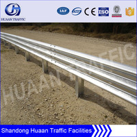 Highway guardrail factory from Shandong Guanxian Huaan Traffic Facilities
