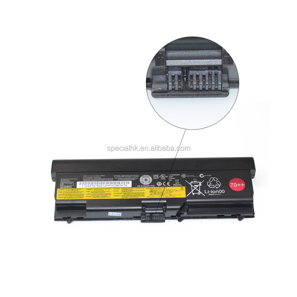 94Wh 11.1V 8400mAh 70++ li ion battery for lenovo thinkpad T430 W530 L530 L430 T520 W520 45N1005 45N1004