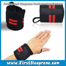 Environment Friendly 5mm Thick Neoprene Wrist Wraps