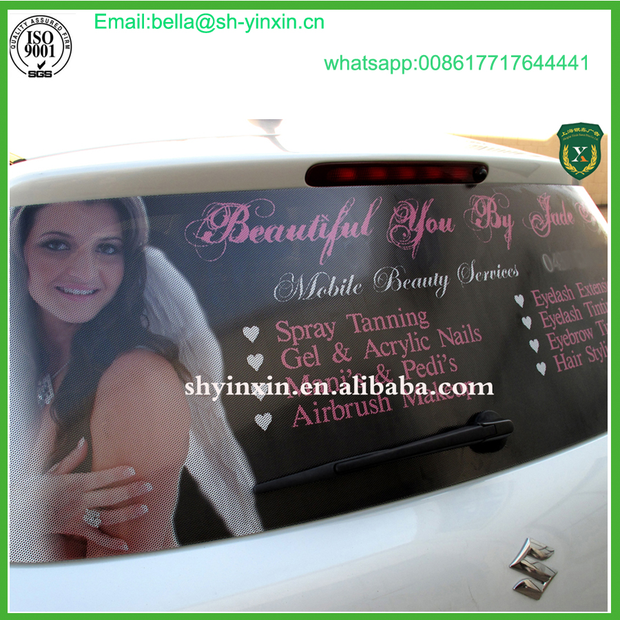 High Quality Waterproof Window Glass Sticker One Way Vision