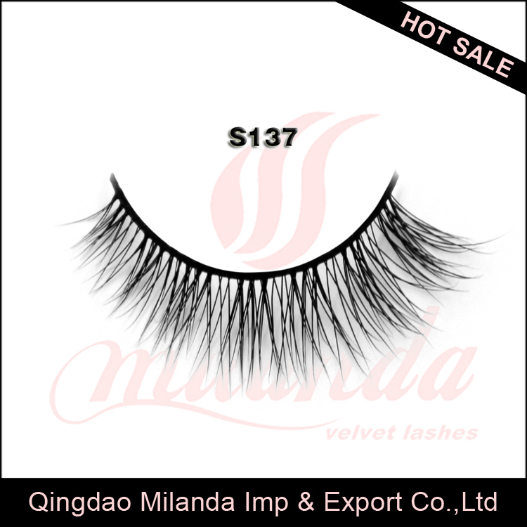 Perfect custom designed cruelty free 100% fake mink eyelash supplier qingdao