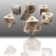 Custom Cheap Dice Engravable Polyhedral Dice Metal Dice