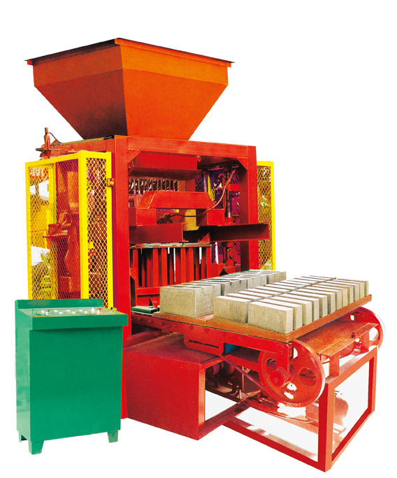 ZCJK4-35I color paving brick making machie/interlock block making machine/auto brick production line