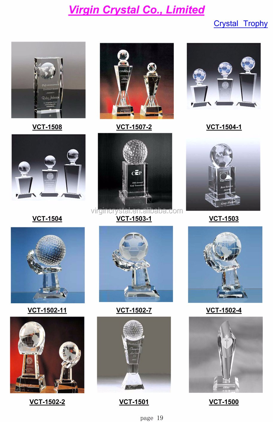 Fashion crystal golf ball with golf racket for teamwork golf sports souvenirs