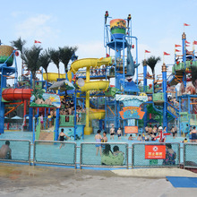 Outdoor Playground Water Park Equipment Water Slides For Sale