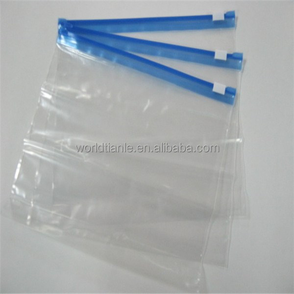 Cute loyal servant for your bedroom! Waterproof clear grip seal slider bags for socks or underware packaging