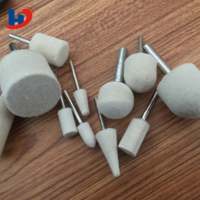 factory price polishing wool felt bob mini grinding tool for glass and tiny things