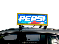 P2.5 P5 outdoor taxi top advertising led screen/Outdoor P10 trailer truck led display boards