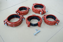 Pipe Linking System Ductile Iron Fittings in Fire Fighting
