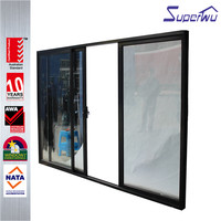 AS2047 large entrance 3 panel Aluminium sliding pocket door