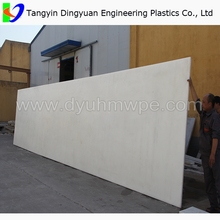 Polyethylene Sheet/HDPE plastic UHMWPE UPE PE1000 polyethylene custom made sheet/board/part with strong impact resistance factor
