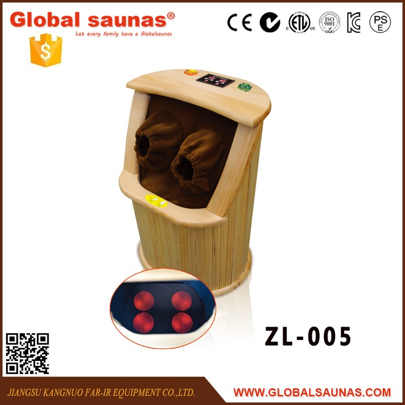 Far infrared sauna wooden foot bath barrel ZL005
