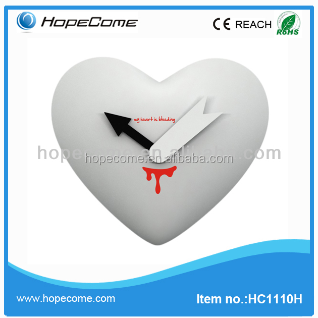 Promotional tables decorations wedding pendulum wall clocks