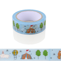 2015 Hot Sale Popular Paper Tape With Single Side, Custom Prented Tape