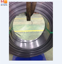 flat spring steel wire with ISO certificate
