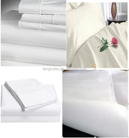 Bleached Woven Cotton White Bedsheet Fabric