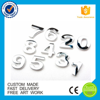 3d car brand logo Custom new style abs plastic chrome emblem