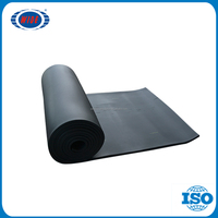 32mm Moisture resistant rubber flex heating insulation black plastic water pipe roll