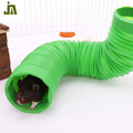 Wholesale Cheap new hamsters toy collapsible pet tunnel