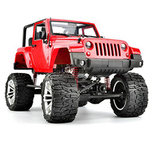 New HG-P406 1/10 Scale 2.4G 4WD RC Climbing Car 3 Channels Proportional Remote Control Jeep