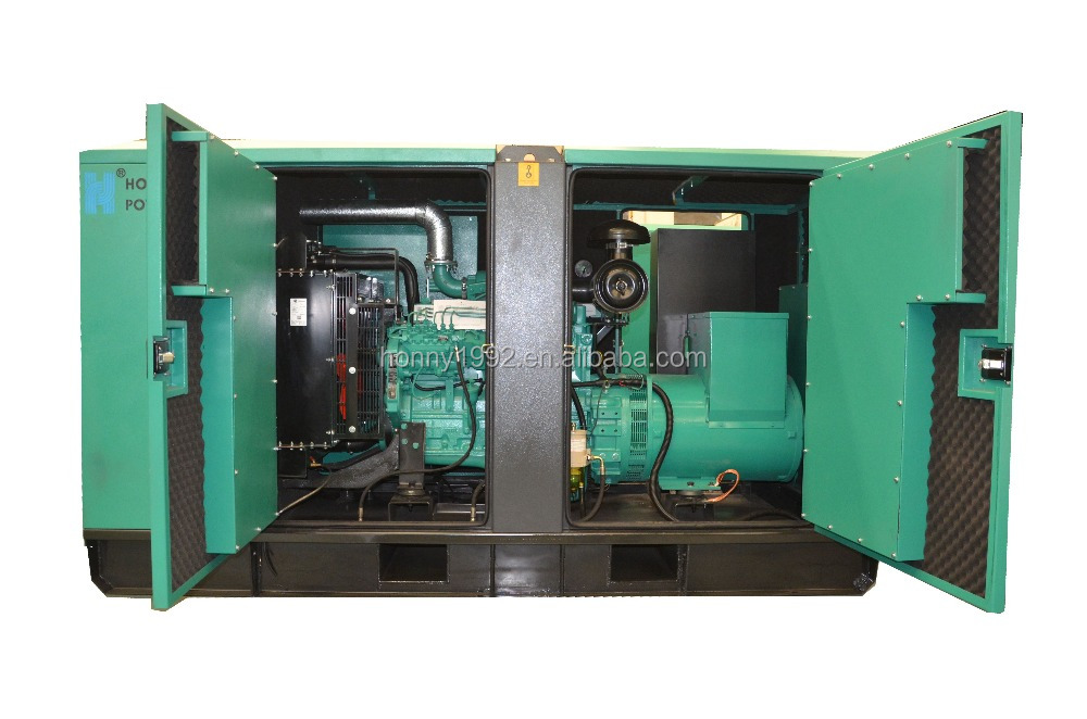 Small 6 Cylinder 4 Stroke Engine Diesel Generators 62.5kVA to 142.5kVA