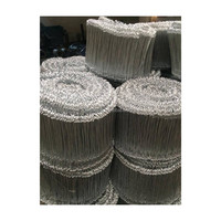 Various gauges black annealed tie wire ISO9001 manufacturer