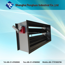 Hvac system Galvanized Steel Air Duct Fire Proof Damper