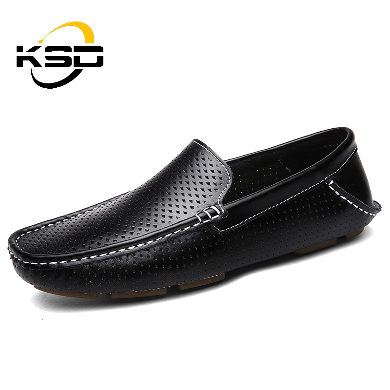Summer new style high quality men's fashion comfortable low for casual driving shoes