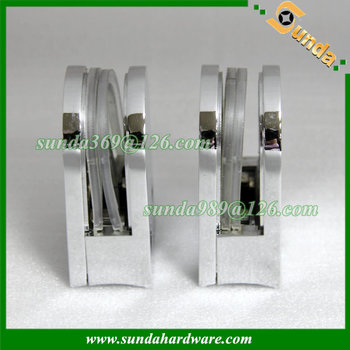 zinc alloy suspension clamp with arc base