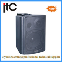 PA System Powered active 100V wall mounted stereo speakers