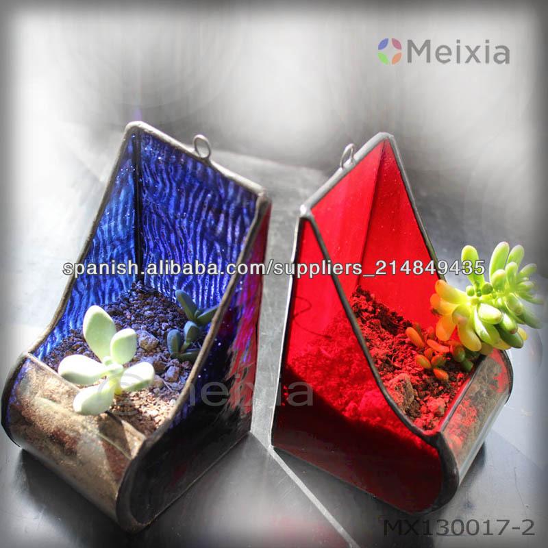 Mx130017 terrario de vidrio geom trica para el sostenedor for Decoracion hogar al por mayor