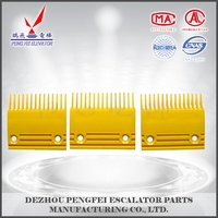 PENGFEI elevator comb segment escalator comb plate set for JAPAN escalator