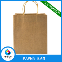 Wholesale Cheapest Paper Bag,Recycle Shopping Bag With Custom Logo
