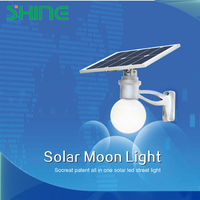 popular all in one solar street light with solar panel lithium battery integrated